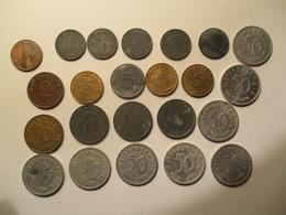 Allemagne: Lot De 23 Monnaies IIIème Reich, 1935 - 44 - [ 4] 1933-1945 : Troisième Reich