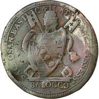 Monnaie, États Italiens, PAPAL STATES, Pius VII, Baiocco, 1801, Roma, B+ - Vatican