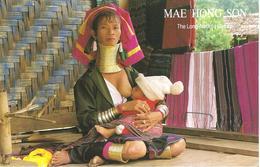 Ansichtskarte Von Thailand Mae Hong Son - Thaïland