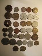 Afrique: Lot De 35 Monnaie - Période Coloniale - Vrac - Monnaies