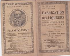 Distillerie NOIROT, Fabrication Des Liqueurs Sirops Et Eaux De Vie, édition 1927-28 - Autres Collections