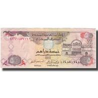 Billet, United Arab Emirates, 5 Dirhams, Undated (1982), KM:7a, TTB - Emirats Arabes Unis