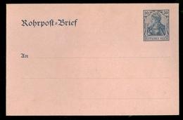 DEUTSCHLAND * ROHRPOST - BRIEF GANZSACHE 30 PFENNIG NICHT GEBRAUCHT (11.453d) - Germany