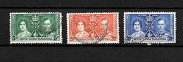 KUT KGVI 1937 Coronation, Complete Set Used (7075) - Kenya, Uganda & Tanganyika