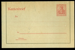 DEUTSCHLAND * KARTENBRIEF - BRIEF GANZSACHE 10 PFENNIG NICHT GEBRAUCHT (11.453e) - Postwaardestukken