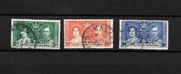 KUT KGVI 1937 Coronation, Complete Set Used (7076) - Kenya, Uganda & Tanganyika