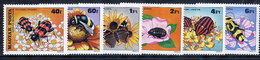 HUNGARY 1980 Pollination Of Plants  MNH /**.  Michel 3405-10 - Hungary