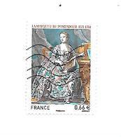 Personnalité Marquise De Pompadour N°4887 Oblitéré Année 2014 - France