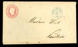 DEUTSCHLAND * HANNOVER  Ein Groschen Ganzsache Auf Briefûmschlag Von FREIBURG Nach NORDLEDA  (11.453f) - Hanover