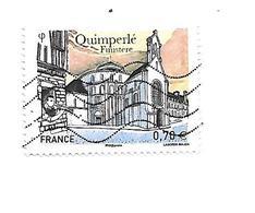 Série Touristique Ville De Quimperlé 5071 Oblitéré 2016 - France