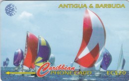 Antigua, ANT-239C, Antigua Sailing Week 1997, 2 Scans. - Antigua And Barbuda