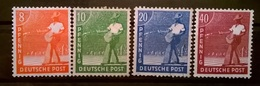 FRANCOBOLLI STAMPS GERMANIA GERMANY 1947 MNH**  SERIE UOMINI AL LAVORO OCCUPAZIONE ALLEATA OCCUPATION ALLIED DEUTSCHE - Zona Anglo-Americana