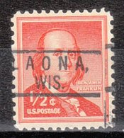 USA Precancel Vorausentwertung Preo, Locals Wisconsin Laona 801 - Vereinigte Staaten