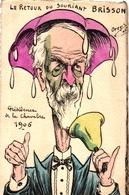 Henri Brisson, Le Retour Du Souriant, Sign. Orens, L``Actualiste No 86, Auflage 150 Stück - Orens