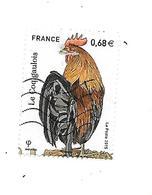 Série Nature Les Coqs De France 5007 Oblitéré 2015 - France
