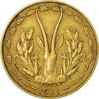 Monnaie, West African States, 10 Francs, 1971, Paris, TB+ - Côte-d'Ivoire