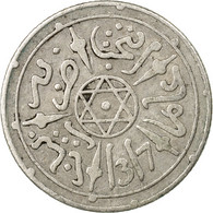 Monnaie, Maroc, 'Abd Al-Aziz, 1/2 Dirham, 1899, Paris, TTB, Argent, KM:9.2 - Maroc