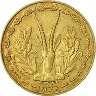Monnaie, West African States, 10 Francs, 1977, Paris, TB+ - Côte-d'Ivoire