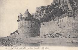 Le Mont Saint-Michel ( ) La Tour Gabriel - Le Mont Saint Michel