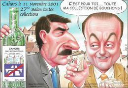Illustrateur Bernard Veyri Caricature Cahors 27 Eme Salon Toutes Collections - Veyri, Bernard