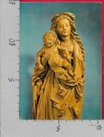 CARTOLINA VG GERMANIA - Kunstsammlungen Der Veste COBURG - Maria Mit Kind Lindenhoiz - 10 X 15 - ANN. 1984 - Coburg