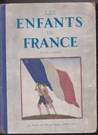 Reliure Les Enfants De France 1933 Revue De La Jeunesse Scouts Scoutisme Hansi Alsace Jean De Brunhoff Marty Du Sorbier - Books, Magazines, Comics
