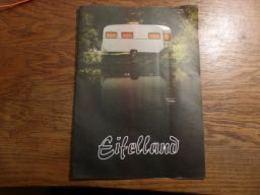 Folder Caravane Caravaning Camping Tente Eifelland 8p - Advertising