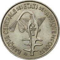 Monnaie, West African States, 100 Francs, 1977, Paris, TTB, Nickel, KM:4 - Côte-d'Ivoire