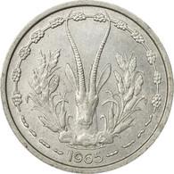 Monnaie, West African States, Franc, 1965, Paris, TB+, Aluminium, KM:3.1 - Côte-d'Ivoire