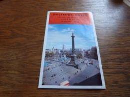 Folder La Voie Vers L'Angleterre Hiver 1964-65 Prix Horaire Train Et Malle Ostende Douvres Oostende Dover - Chemin De Fer