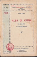 VANNI PUCCI : ALBA DI ANIMA. - Libri, Riviste, Fumetti