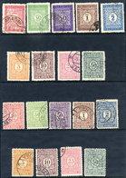 YUGOSLAVIA 1921-31 Postage Due Sets Used.  Michel 53-61 I-II - Postage Due