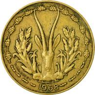 Monnaie, West African States, 10 Francs, 1968, Paris, TB+ - Côte-d'Ivoire