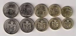 Serbia 2011 Complete Coin Set UNC - Serbie