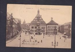 Vente Immediate AK Plauen I. Vogtland Altmarkt Mit König Albert Denkmal ( W.H.D.) - Plauen