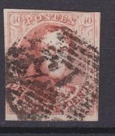 N° 12 A  Margé : 73 LIEGE - 1858-1862 Medallions (9/12)