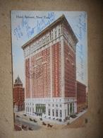 CPA HOTEL BELMONT NEW YORK - Cafés, Hôtels & Restaurants