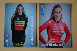 CYCLISME: JULIE BROUWERS - Ciclismo
