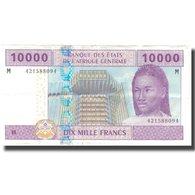Billet, États De L'Afrique Centrale, 10,000 Francs, 1994, 1994, KM:210U, TTB - États D'Afrique Centrale
