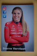 CYCLISME: STERRE VERVLOET - Cyclisme