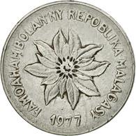 Monnaie, Madagascar, 5 Francs, Ariary, 1977, Paris, TB+, Stainless Steel, KM:10 - Madagascar