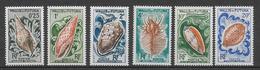 WALLIS - COQUILLAGES - YVERT 162/167 ** MNH - COTE = 25 EUR. - Wallis-Et-Futuna
