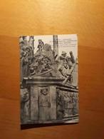 CPA 29 Calvaire De Plougastel-Daoulas L'enfer Cachet 128 Infanterie Service Postal Dépot Pour Barbey à Flixecourt - Daoulas