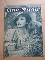 CINE MIROIR N° 669 Du 28/01/38 ZARAH LEANDER - Cinema