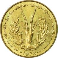 Monnaie, West African States, 5 Francs, 1978, Paris, TB+ - Ivory Coast
