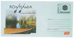 IP 2011 - ( 30 ) CANOE, Romania - Stationery - Unused - 2011 - Kano