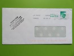 PAP - Lettre Verte 20 G Feuille - SOQUISA Bricolage-Quincaillerie - St Affrique - 05.06.15 - Entiers Postaux