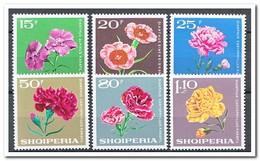 Albanië 1968, Postfris MNH, Flowers - Albanië