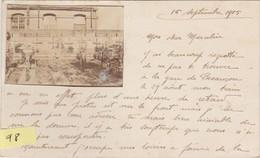 N°96 / Carte Postale PHOTO Cimetière Sur Le Front / Correspondance Militaire / Franchise / 1915 - 1914-18