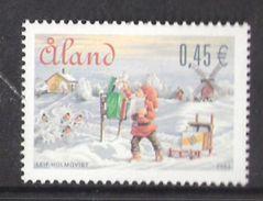 Åland Aland 2004  Christmas: Santa Claus As A Postman  Mi  243 MNH(**) - Aland